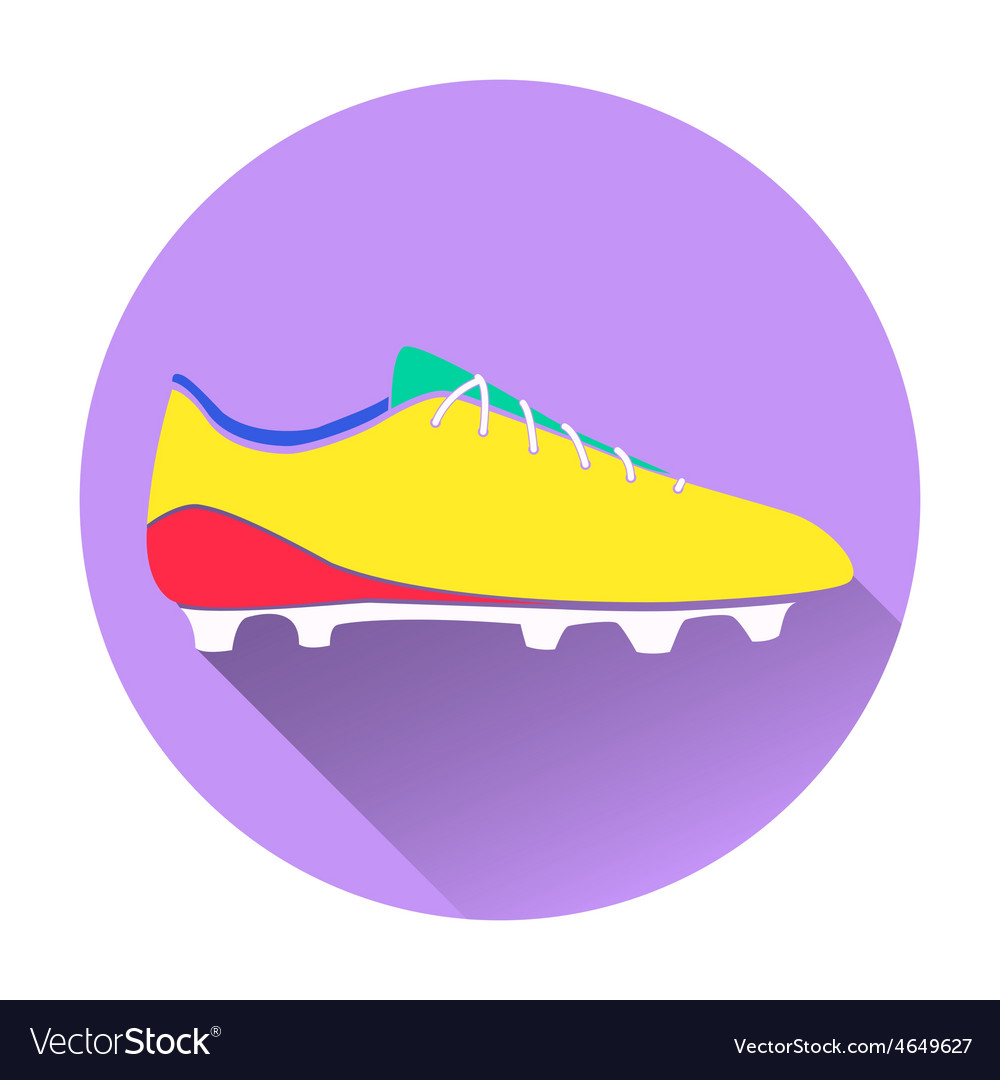 Soccer shoes american vector | Price: 1 Credit (USD $1)