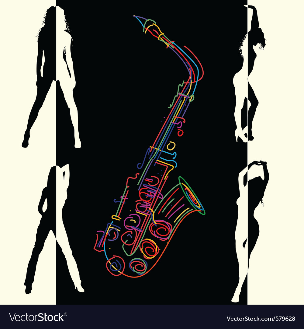 Abstract jazz vector | Price: 1 Credit (USD $1)