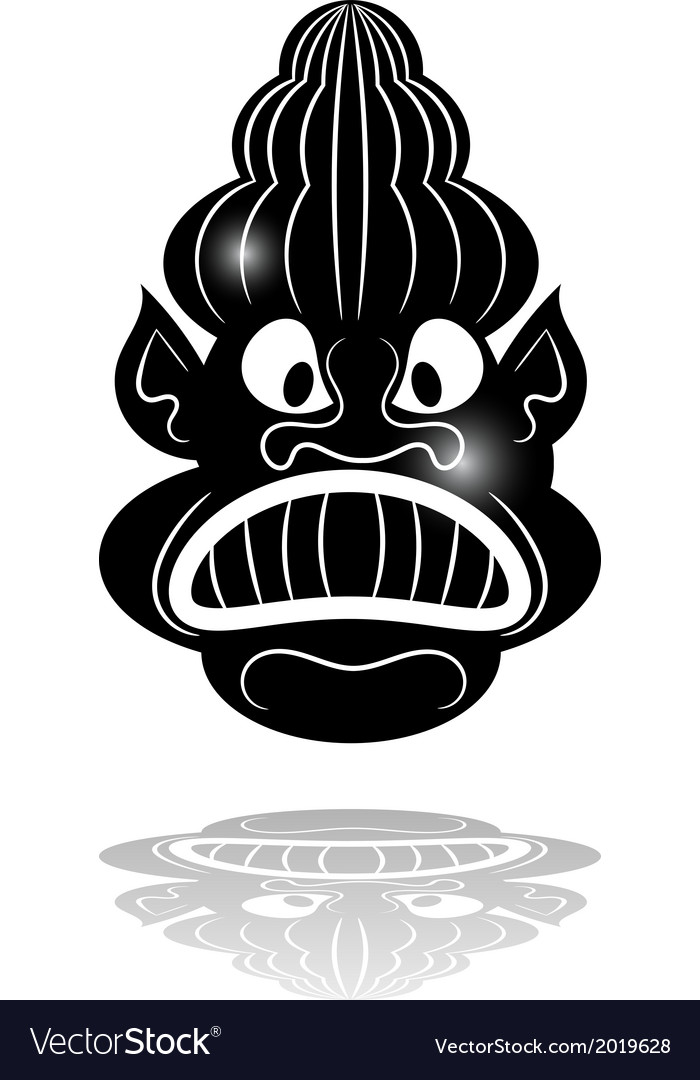 Black mask vector | Price: 1 Credit (USD $1)