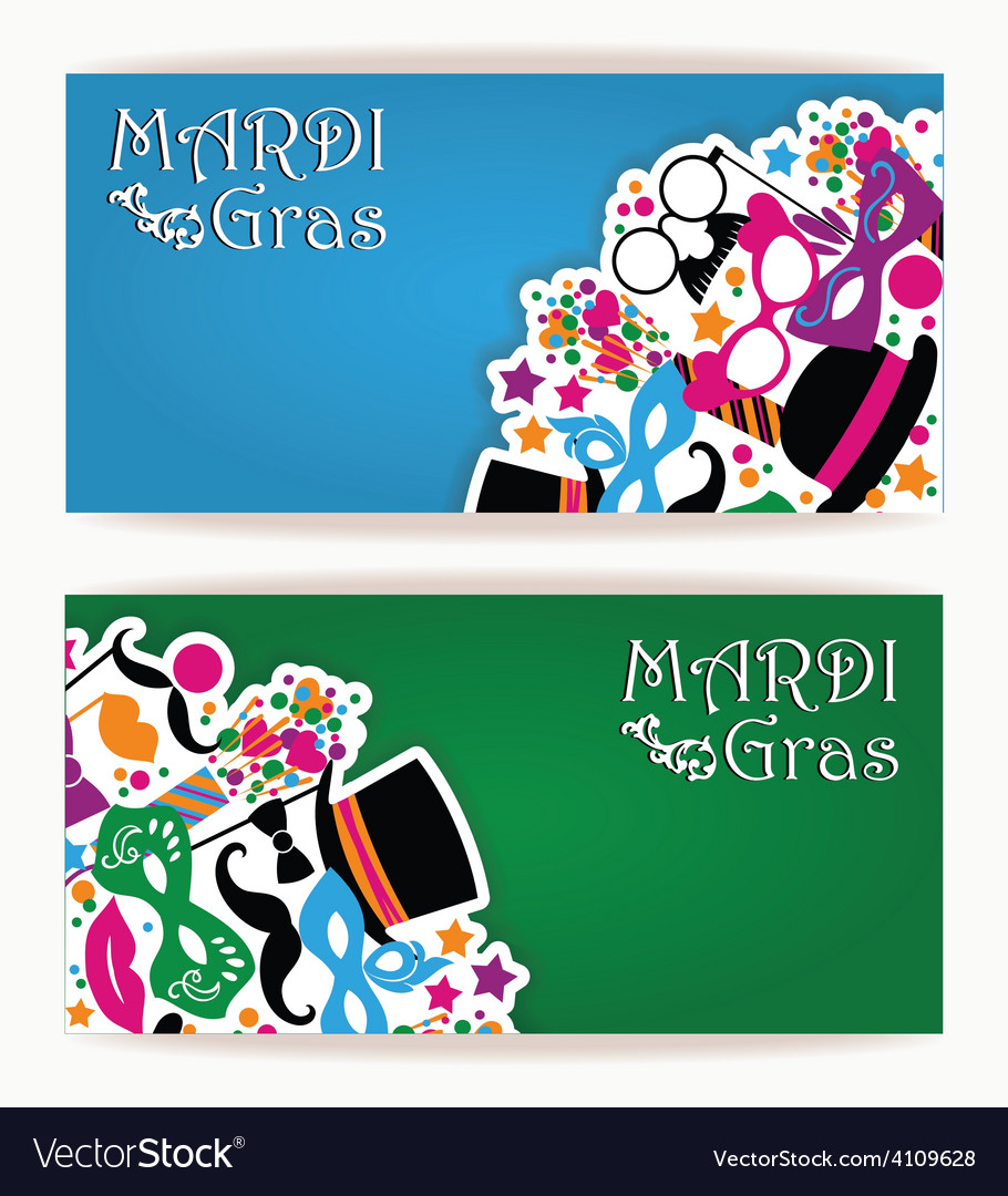 Celebration festive flyer with carnival icons and vector | Price: 1 Credit (USD $1)