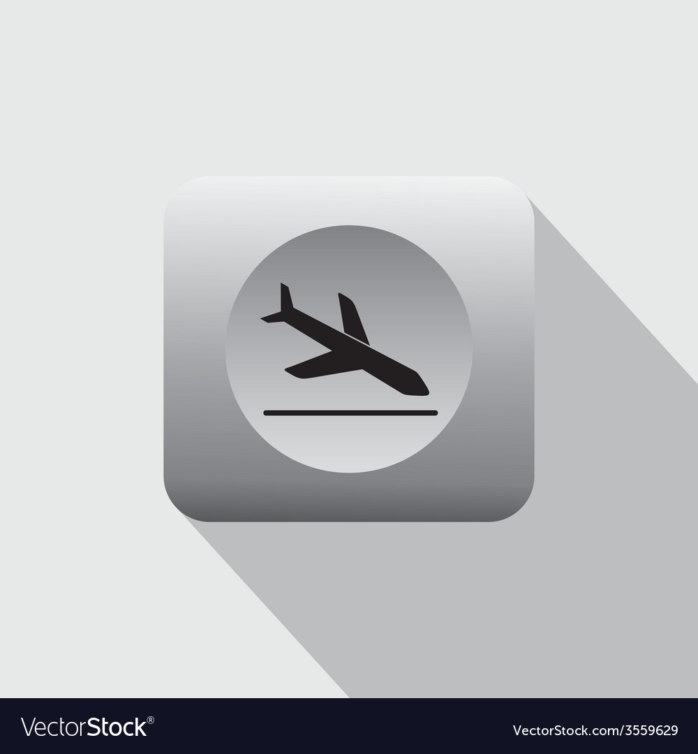 Airport sign vector