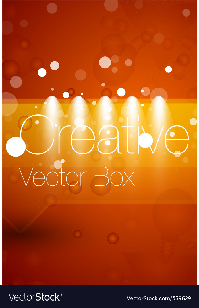 Creative poster vector | Price: 1 Credit (USD $1)