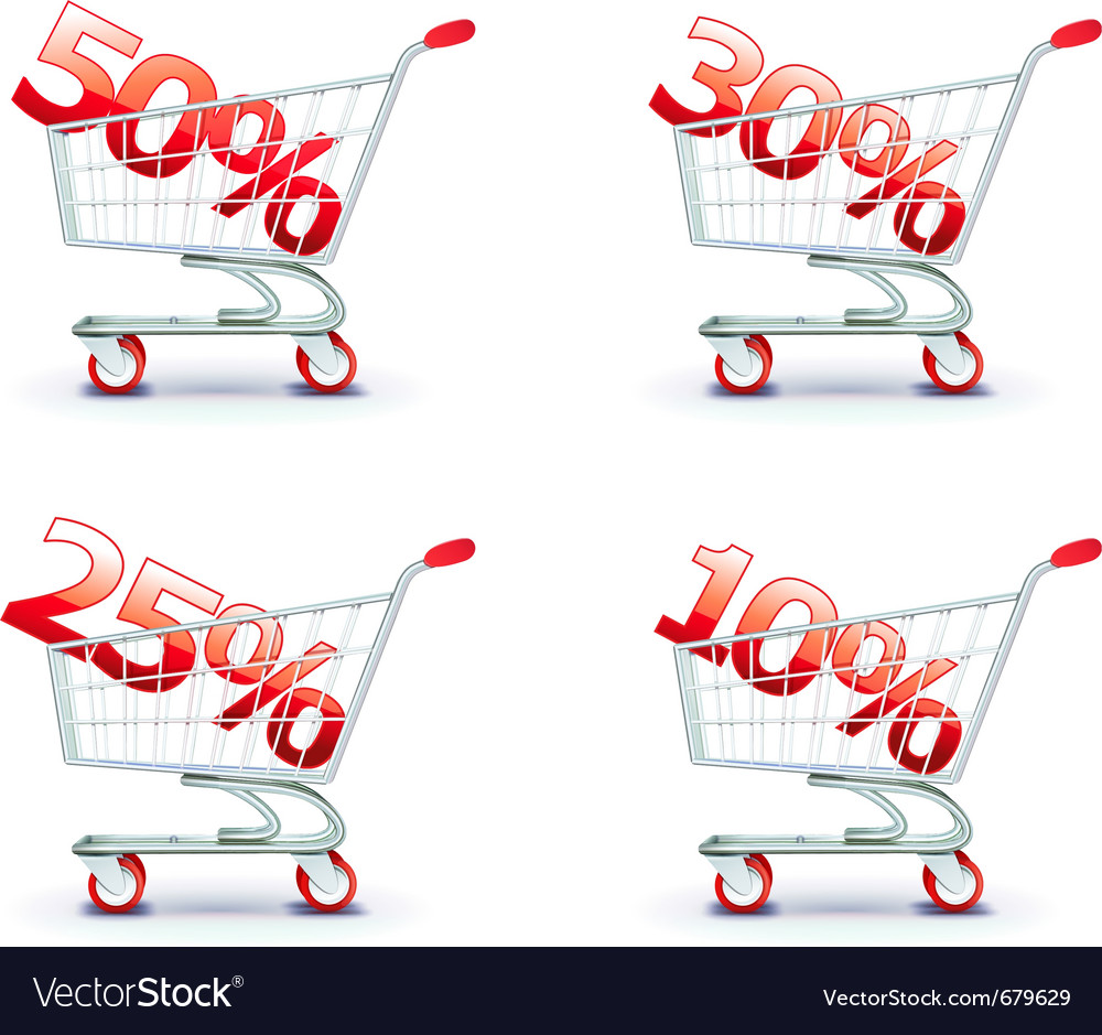 Discount concept vector | Price: 1 Credit (USD $1)