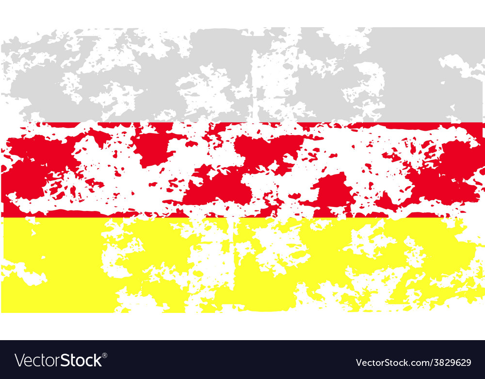 Flag of with old texture vector | Price: 1 Credit (USD $1)