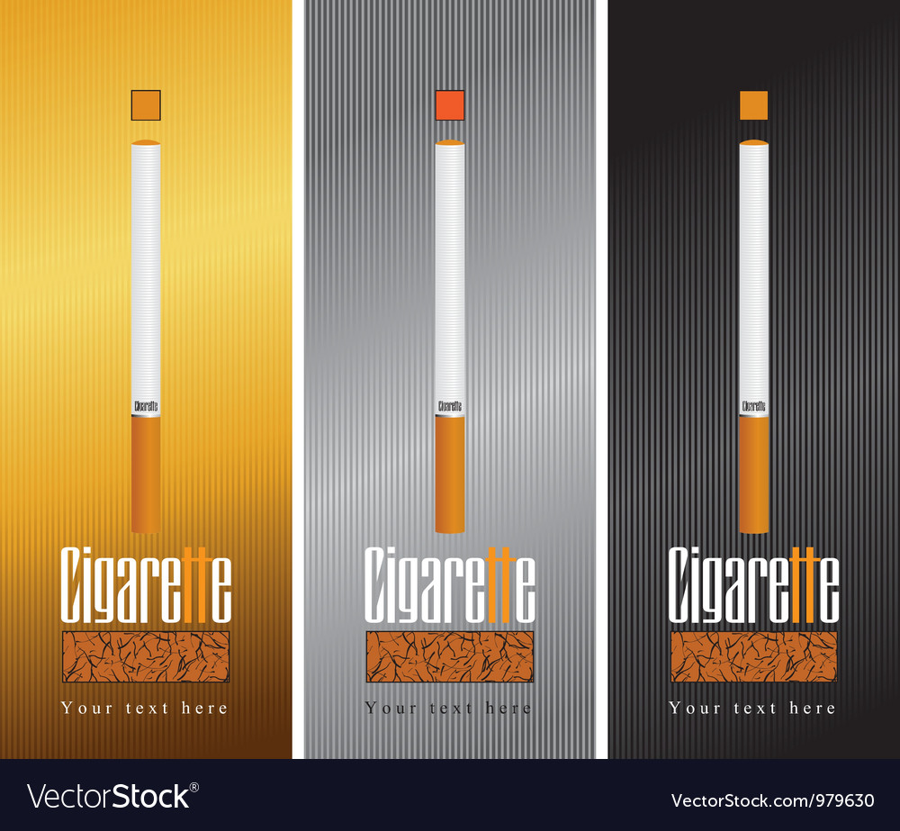 Pack cigarettes vector | Price: 3 Credit (USD $3)