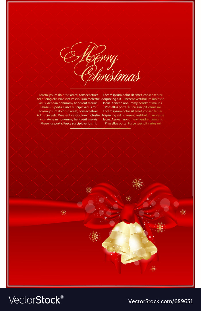 Elegant xmas background vector | Price: 1 Credit (USD $1)