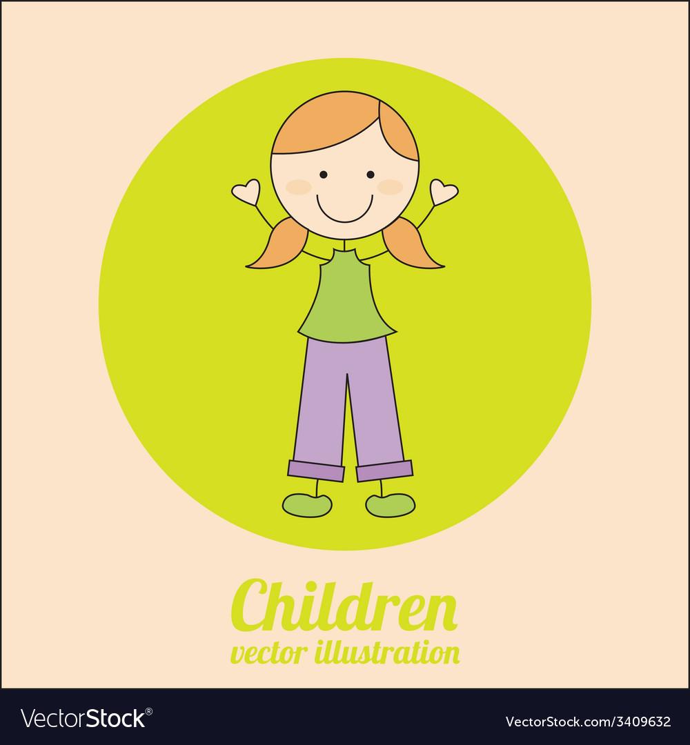 Children design vector   Price: 1 Credit (USD $1)