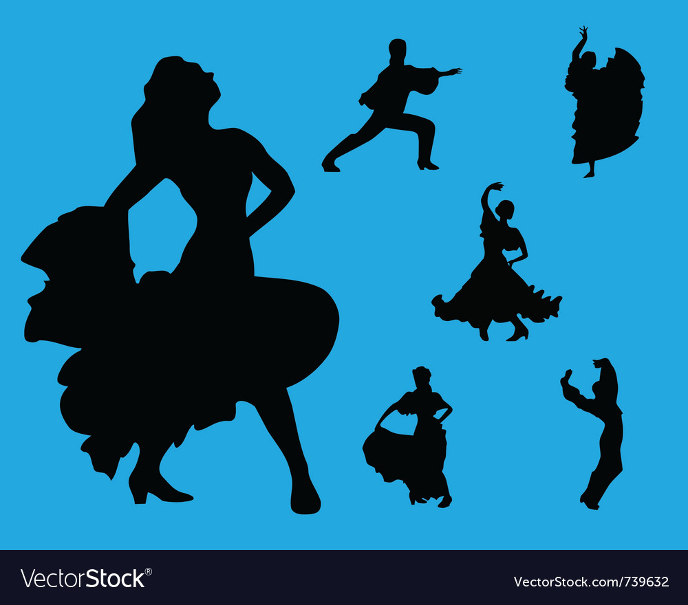 Flamenco collection vector | Price: 1 Credit (USD $1)