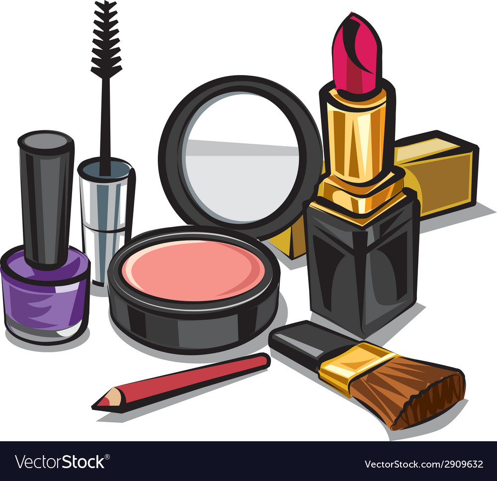 Make up kit vector | Price: 3 Credit (USD $3)