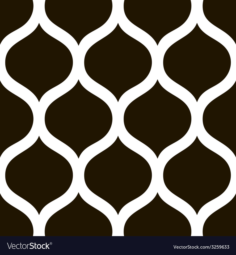 Abstract black and white pattern background vector