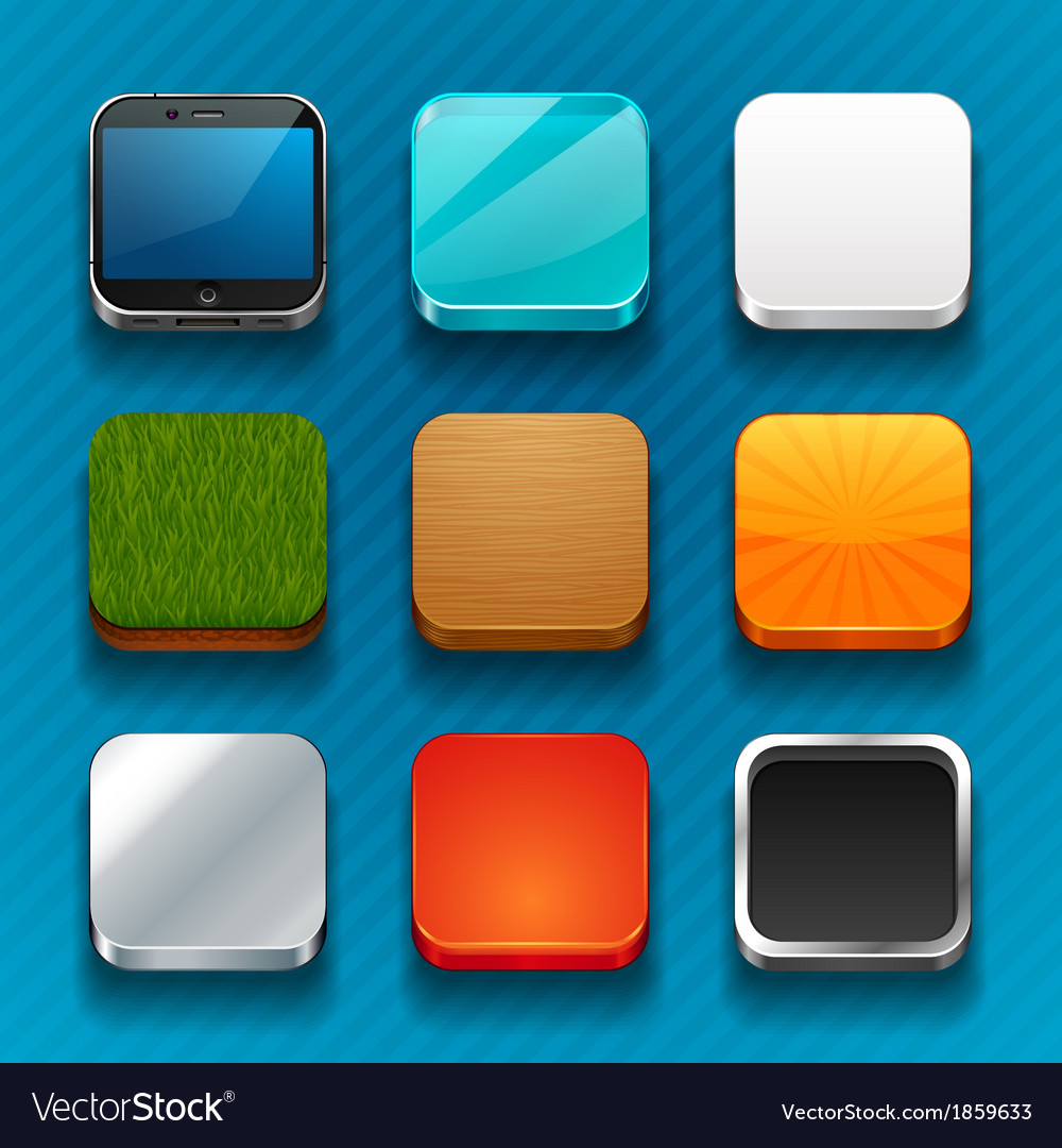 Background for the app icons vector | Price: 1 Credit (USD $1)