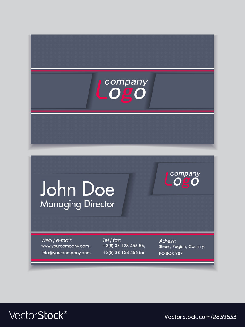 Business cards vector   Price: 1 Credit (USD $1)