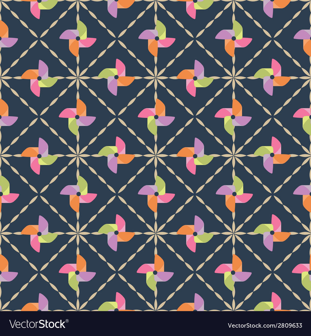Pinwheel pattern vector | Price: 1 Credit (USD $1)