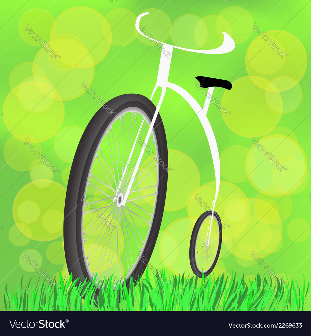 Retro styled bicycle vector | Price: 1 Credit (USD $1)