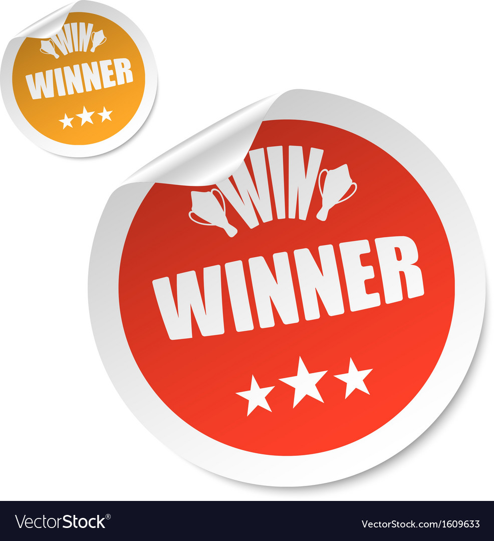 Winner stick vector | Price: 1 Credit (USD $1)