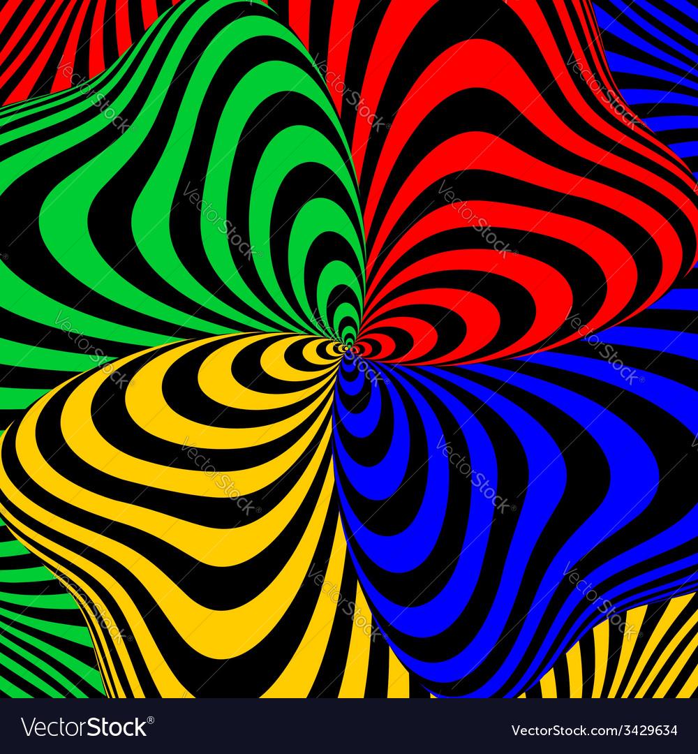 Design colorful swirl movement background vector | Price: 1 Credit (USD $1)