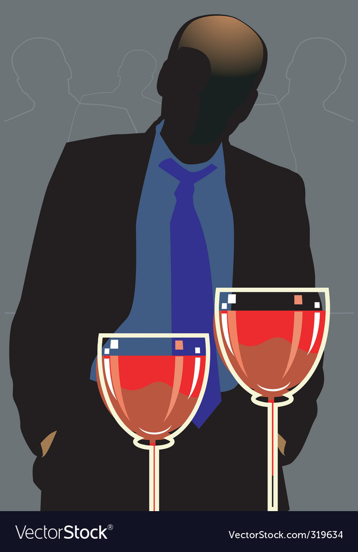 Party and wine vector | Price: 1 Credit (USD $1)