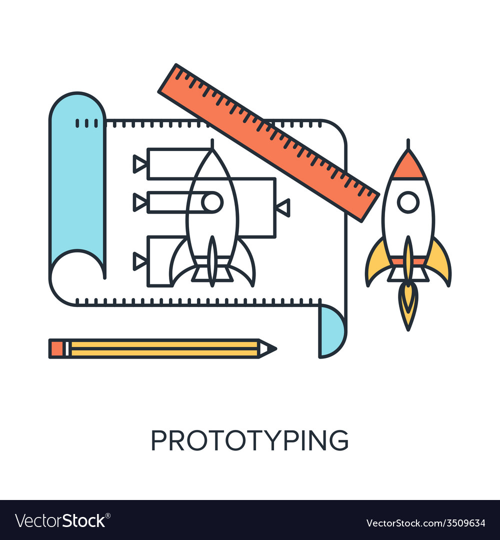 Prototyping vector | Price: 1 Credit (USD $1)