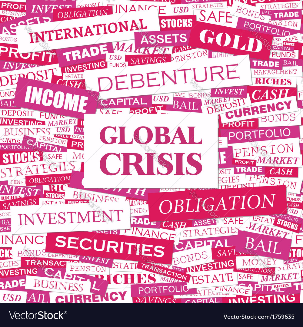 Global crisis vector | Price: 1 Credit (USD $1)