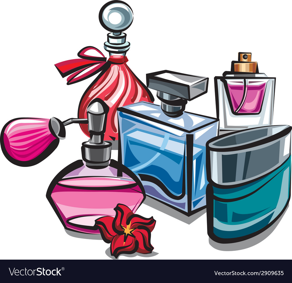 Perfumes vector | Price: 3 Credit (USD $3)