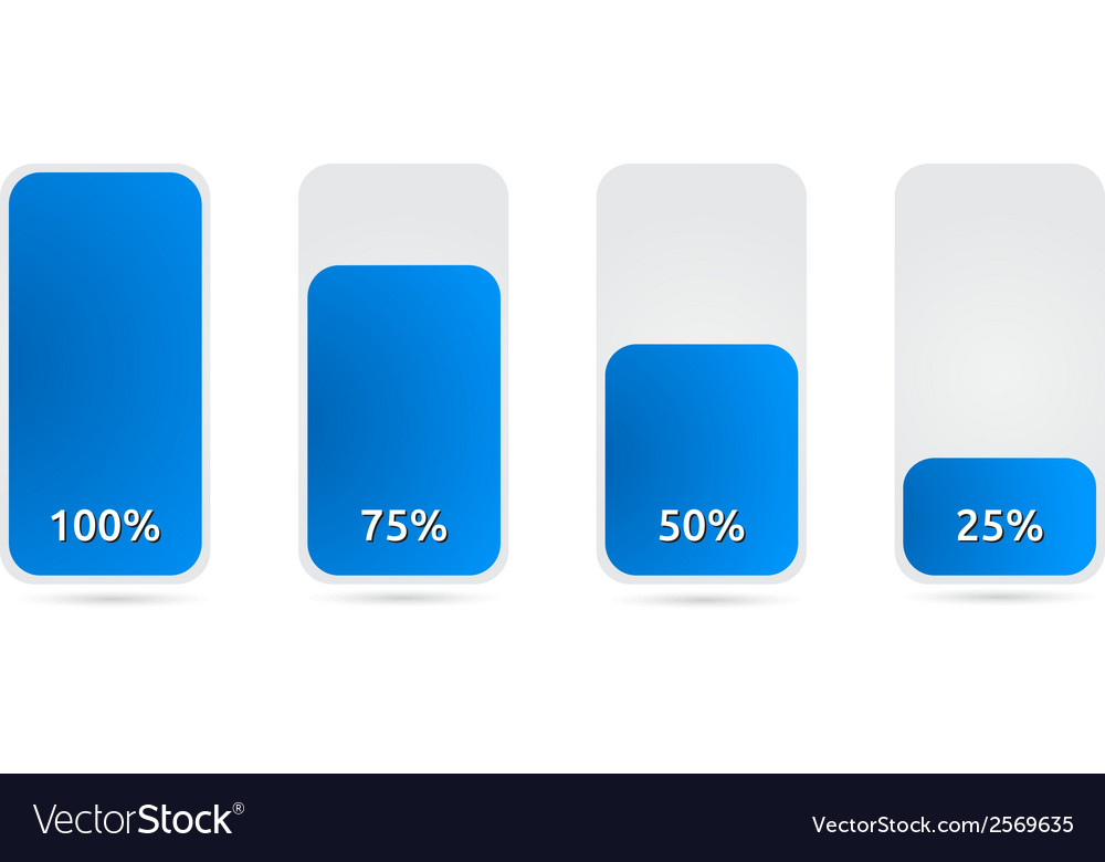 Statistic graph with blue color vector | Price: 1 Credit (USD $1)