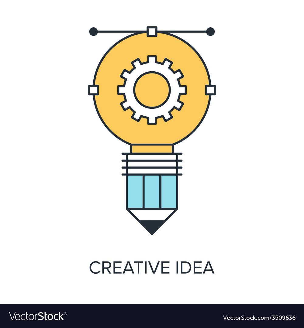 Creative idea vector | Price: 1 Credit (USD $1)