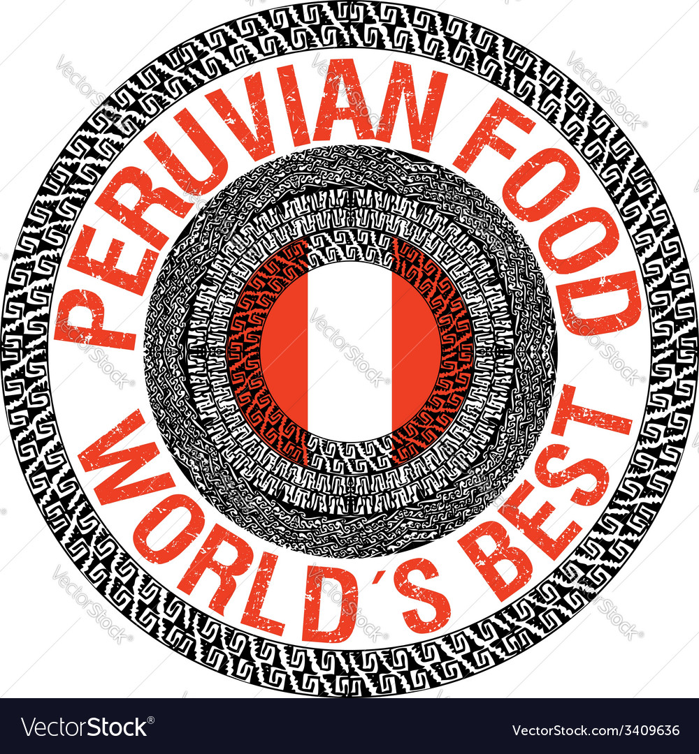 Peruvian food vector   Price: 1 Credit (USD $1)