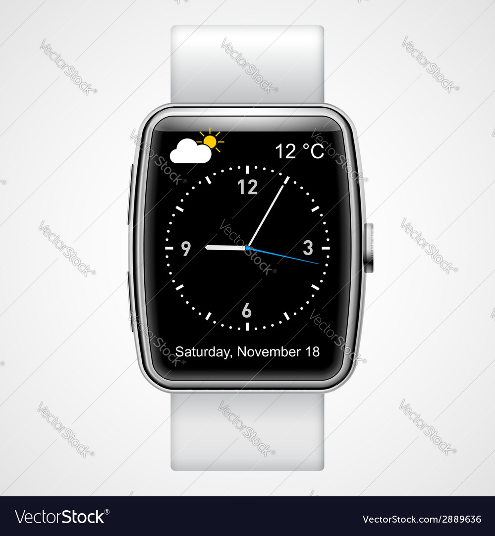 Smart watch vector | Price: 1 Credit (USD $1)