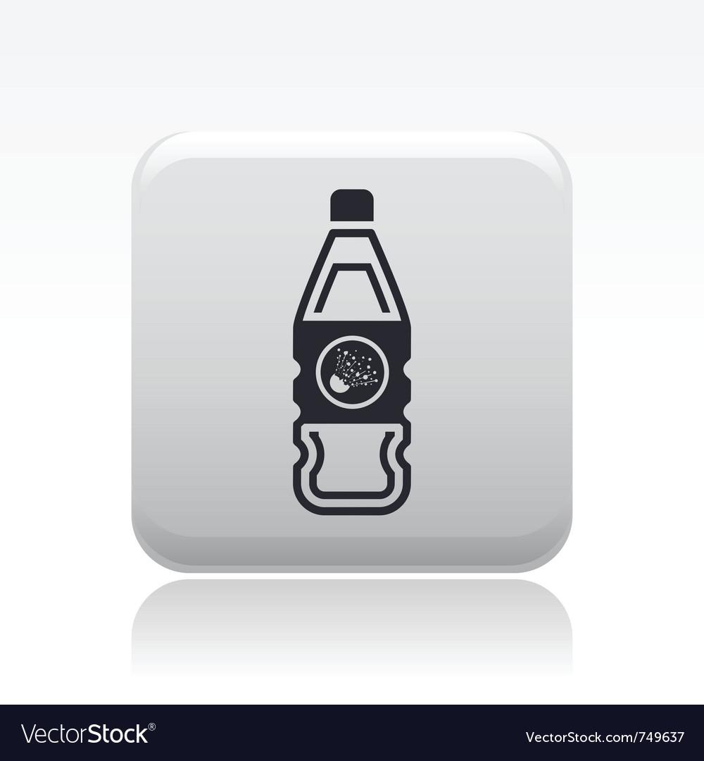 Danger bottle icon vector