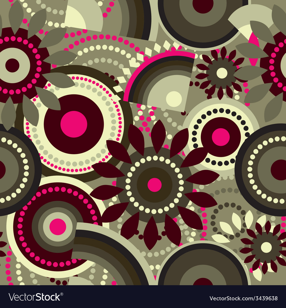 Flower geometric pattern vector   Price: 1 Credit (USD $1)