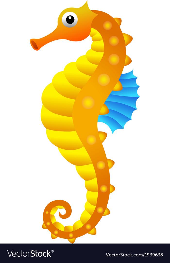 Sea horse vector | Price: 1 Credit (USD $1)