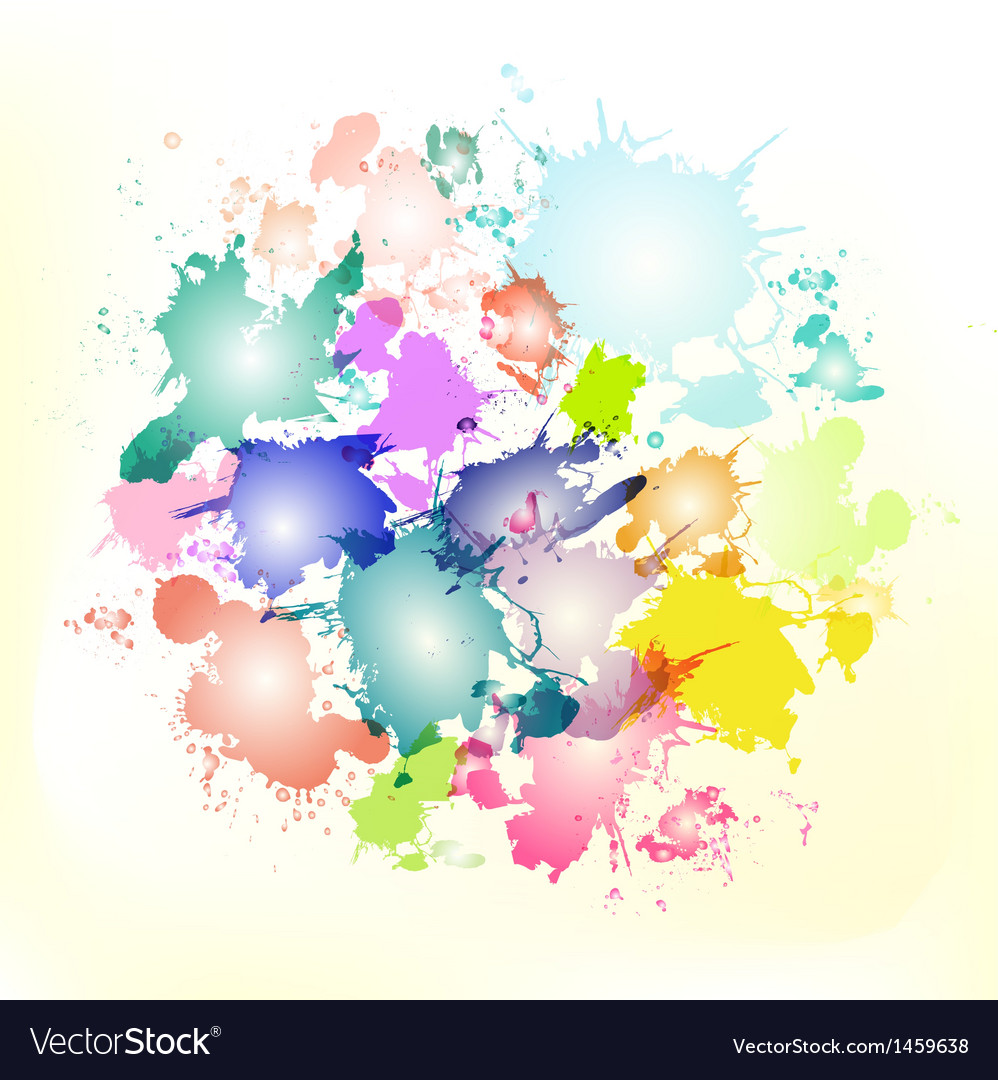 Splash circle vector | Price: 1 Credit (USD $1)