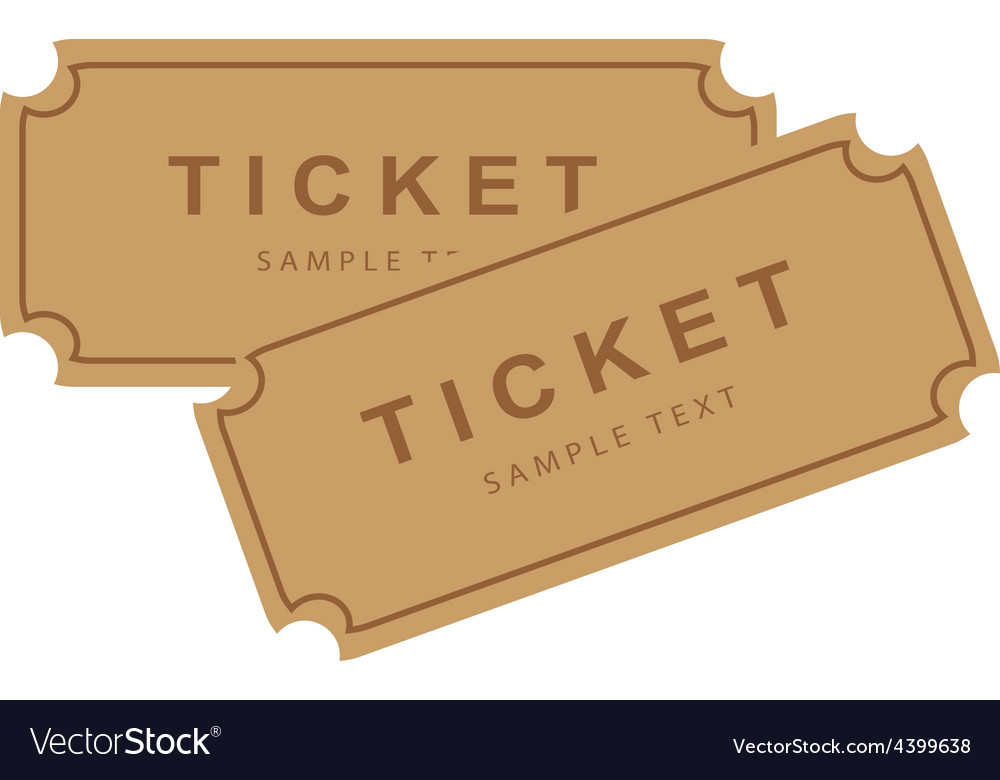 Tickets vector | Price: 1 Credit (USD $1)