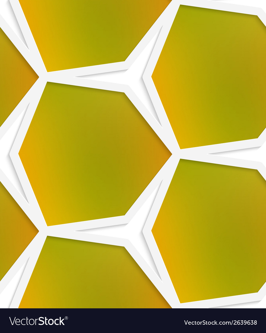 White hexagonal net with mesh seamless pattern vector   Price: 1 Credit (USD $1)