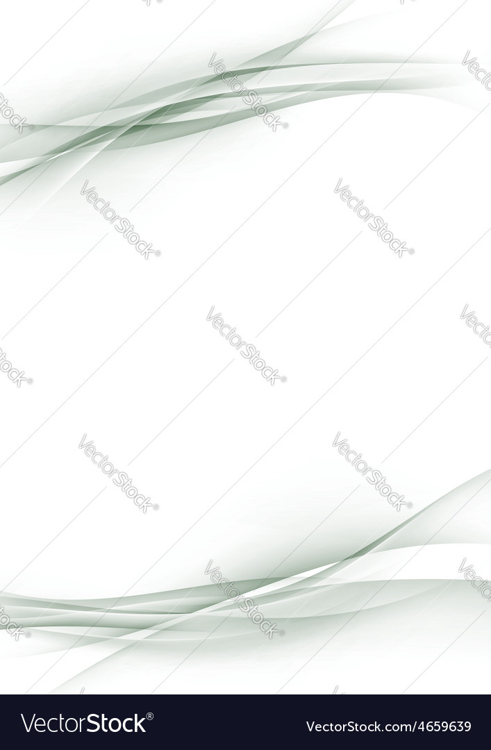 Beautiful abstract modern wave border sheet page vector | Price: 1 Credit (USD $1)