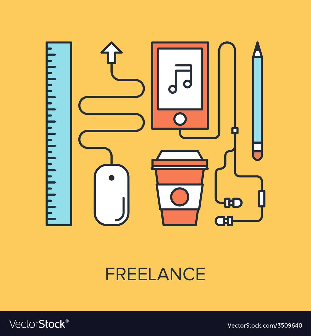 Freelance vector | Price: 1 Credit (USD $1)
