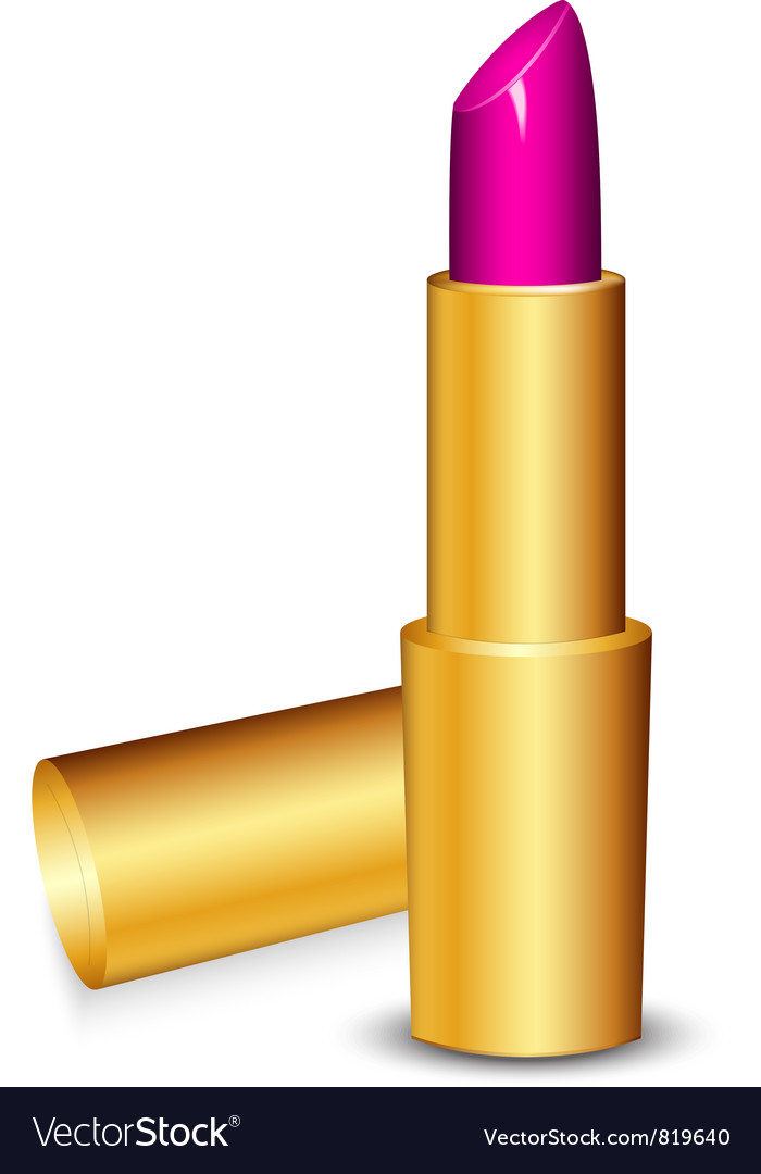 Lipstick pink vector | Price: 1 Credit (USD $1)