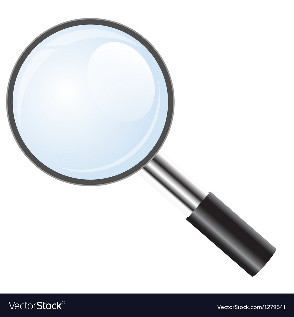 Magnifying glass icon search icon vector | Price: 1 Credit (USD $1)
