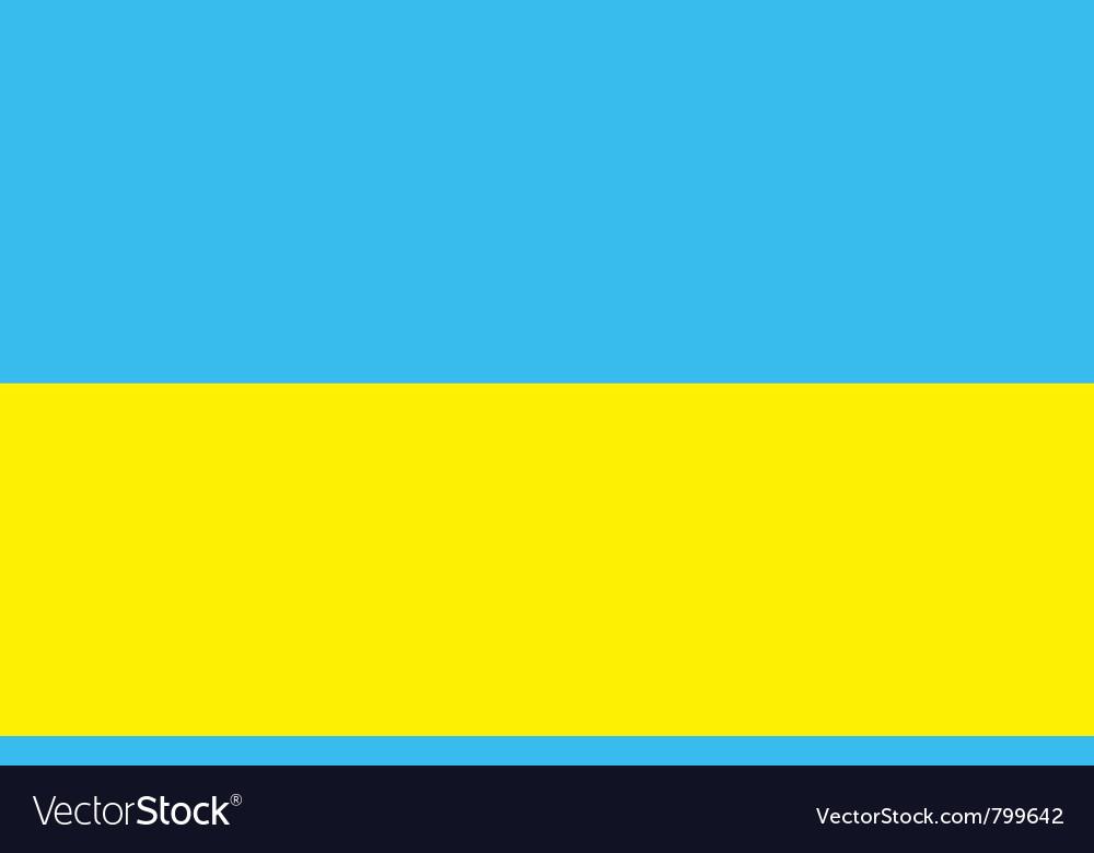 Ukrainian flag vector   Price: 1 Credit (USD $1)