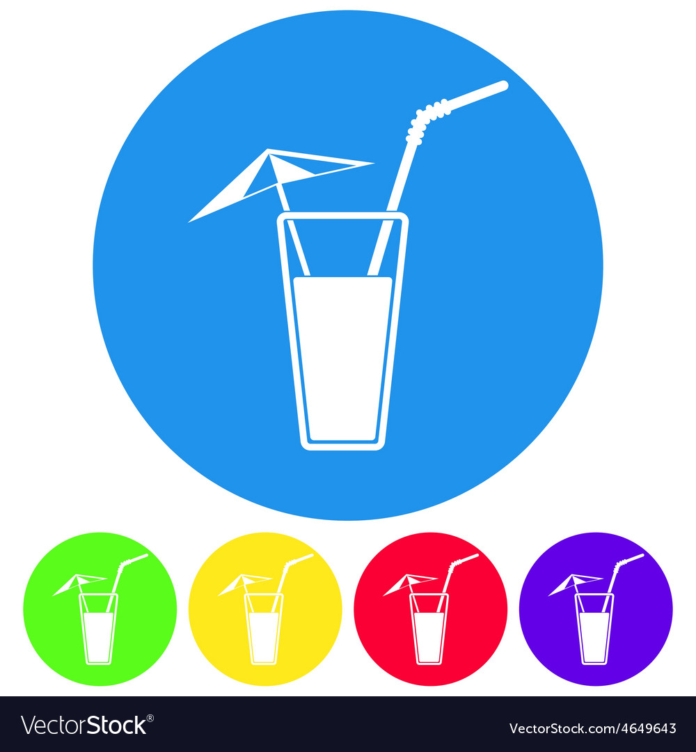Alcohol drink icon cold vector | Price: 1 Credit (USD $1)