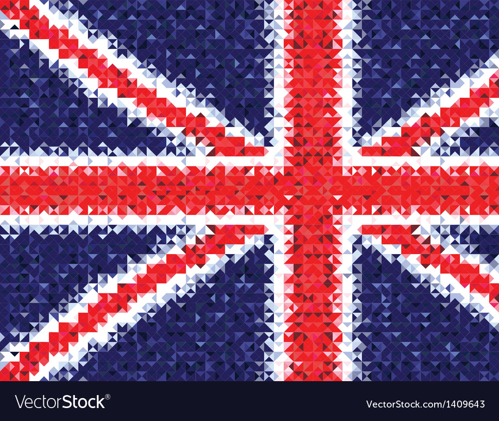 British flag gb vector | Price: 1 Credit (USD $1)