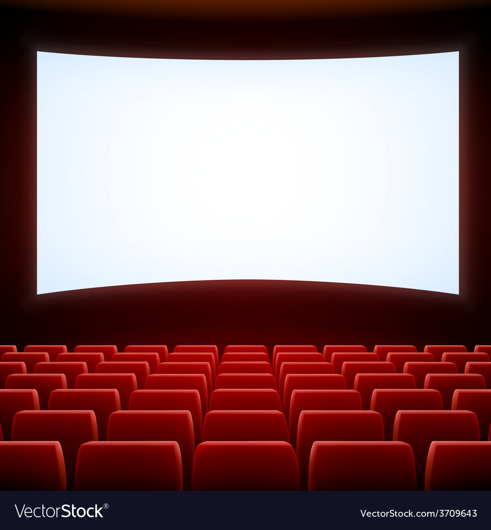 Cinema theatre vector | Price: 1 Credit (USD $1)