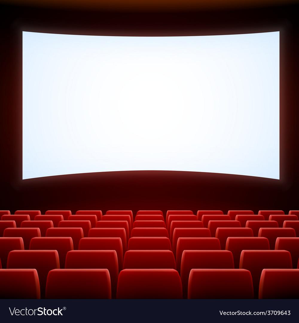 Cinema theatre vector | Price: 1 Credit (USD $1)
