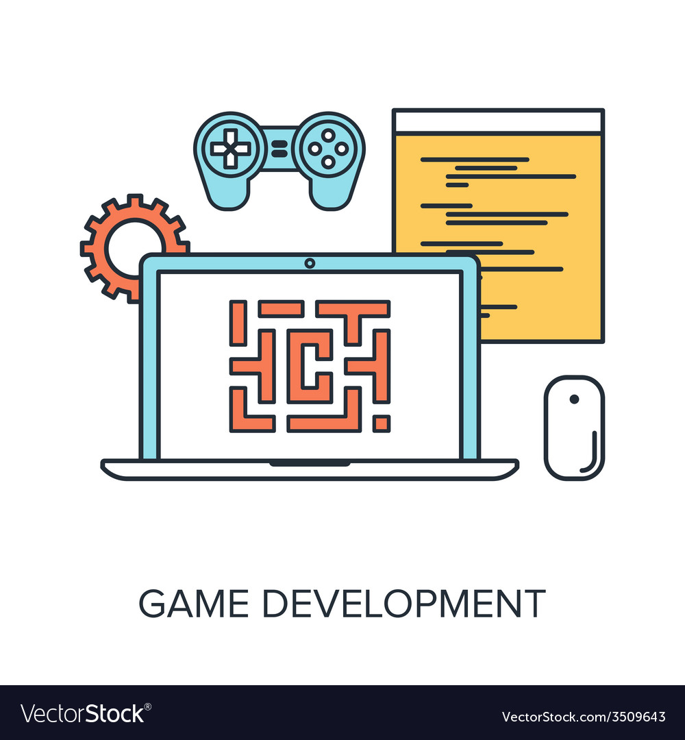 Game development vector | Price: 1 Credit (USD $1)