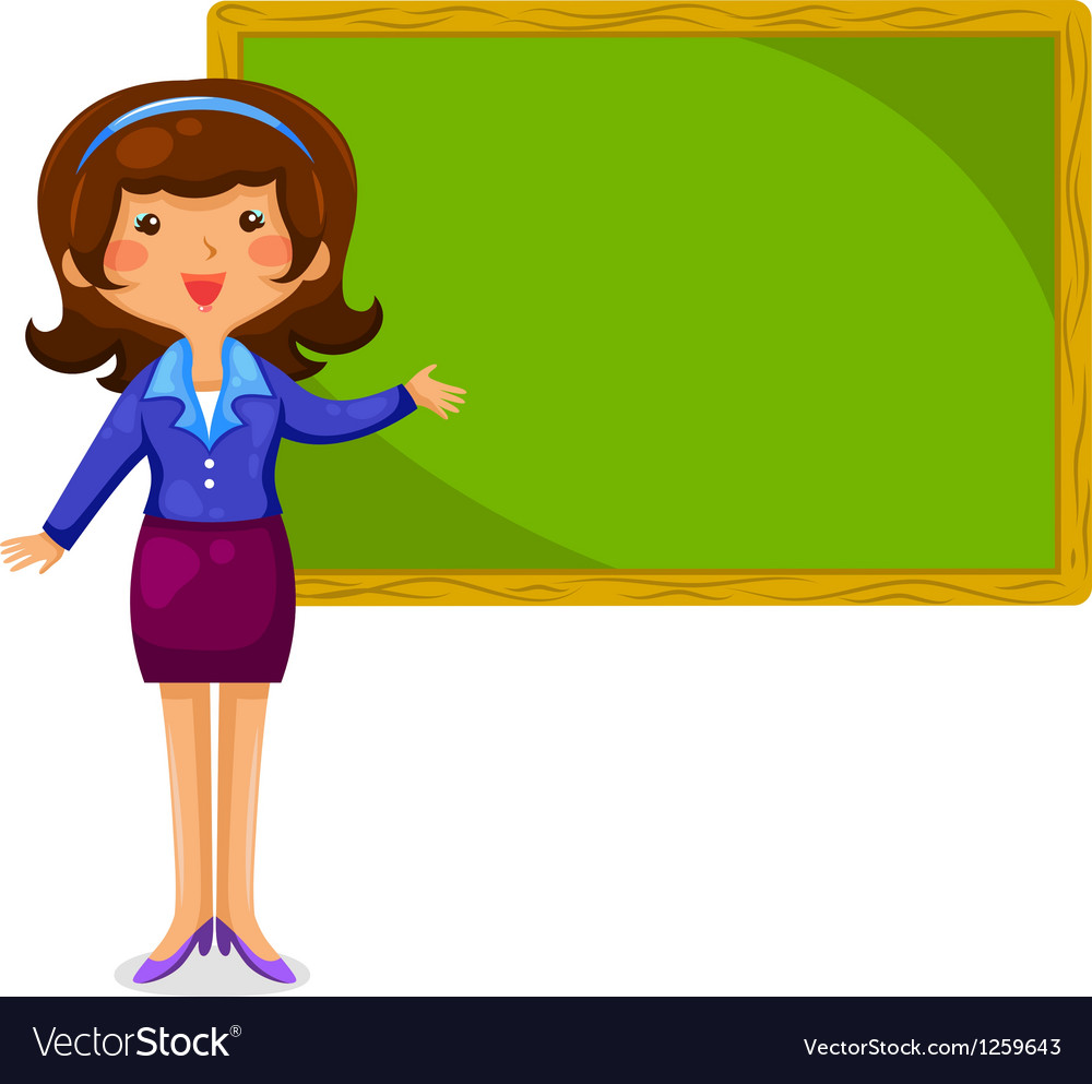 Happy teacher vector | Price: 3 Credit (USD $3)