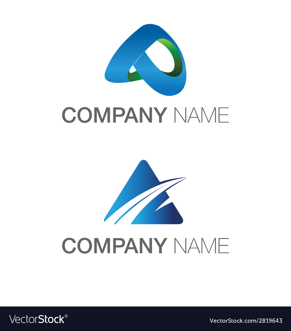 Logo a theme technology abstract and industrial vector | Price: 1 Credit (USD $1)