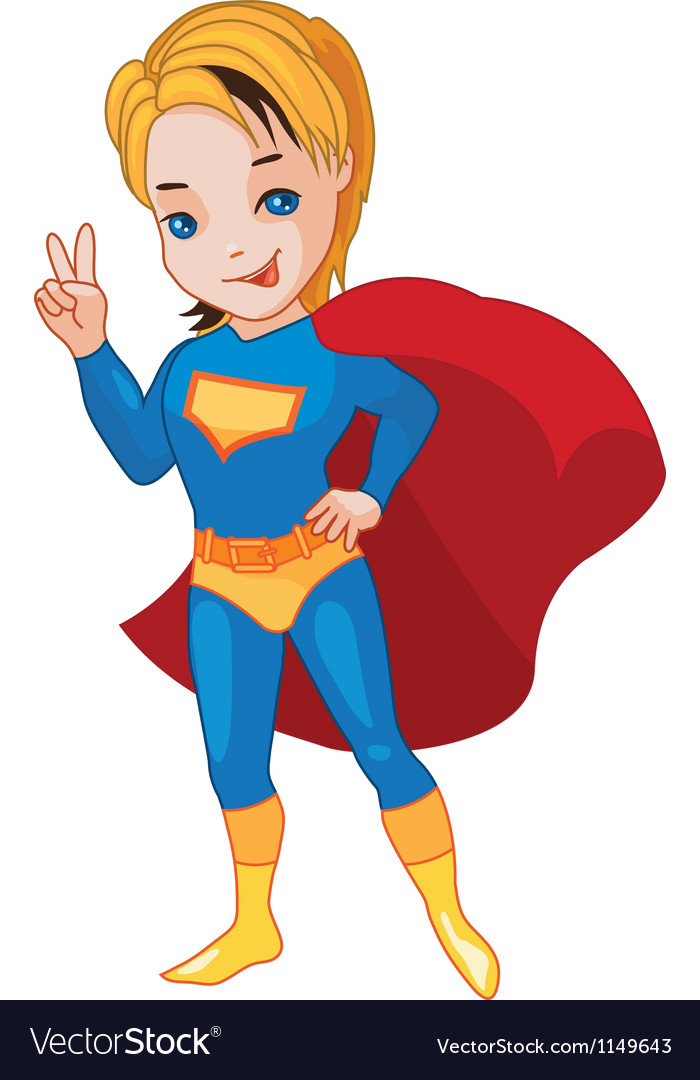 Super boy vector | Price: 1 Credit (USD $1)