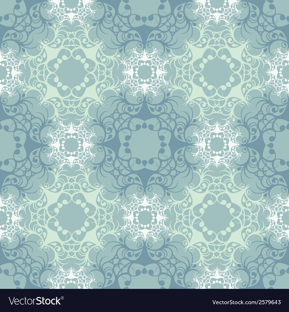 Turquoise lace vector | Price: 1 Credit (USD $1)