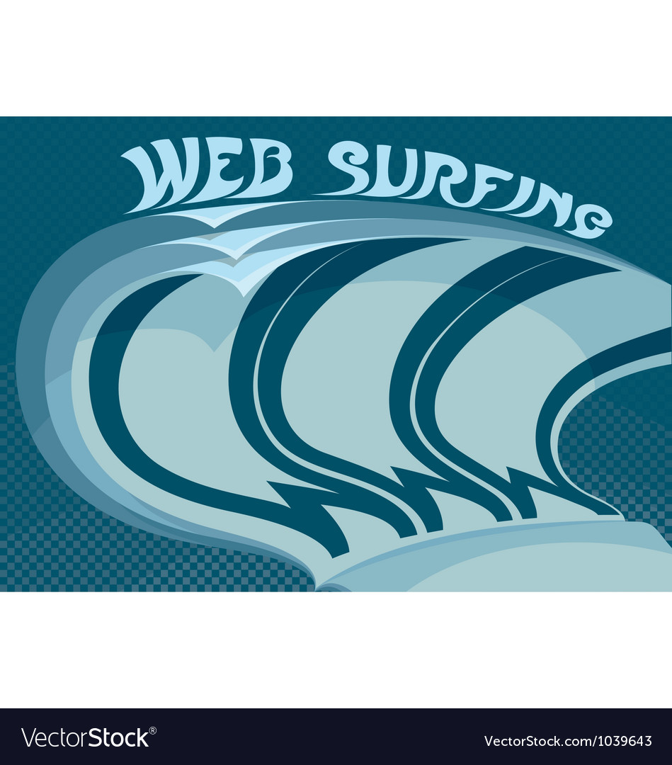 Web surfing vector | Price: 1 Credit (USD $1)