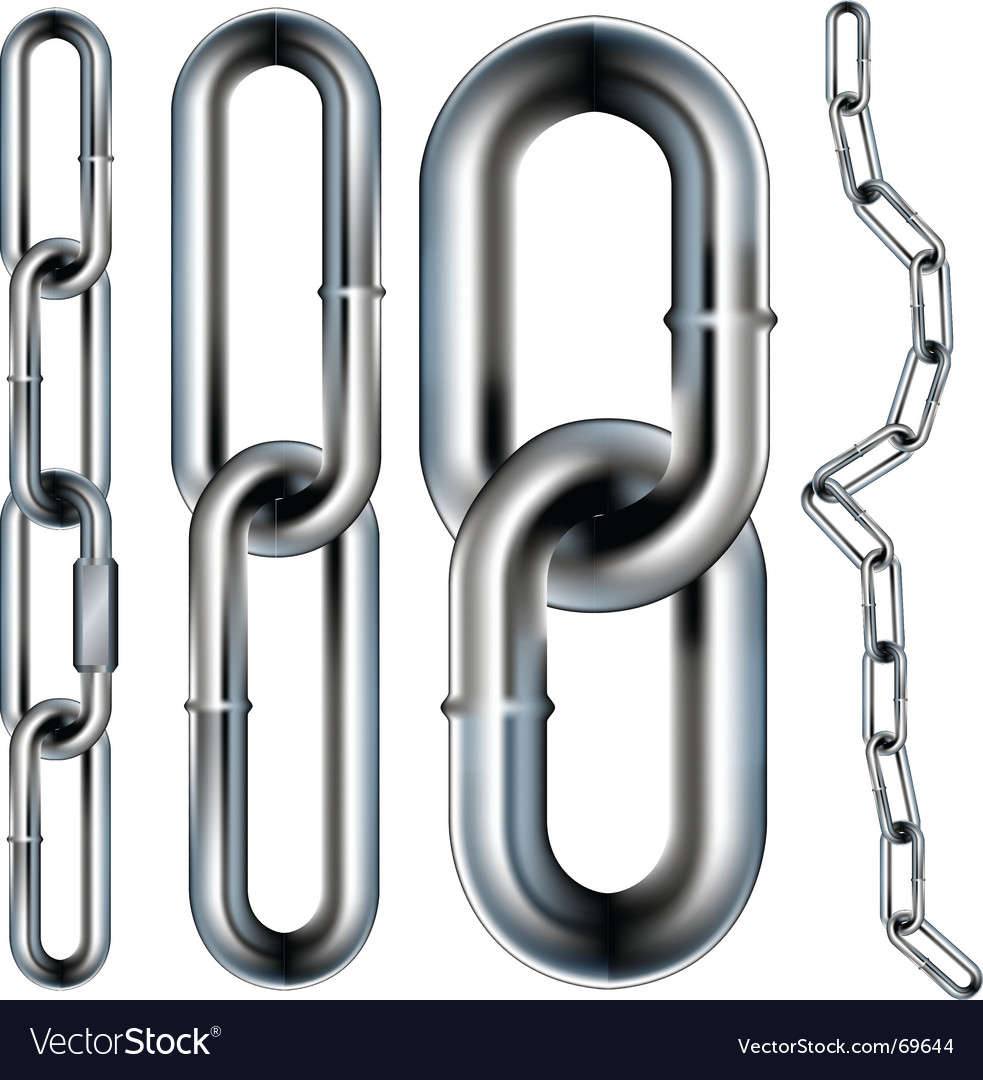 Chain link seamless vector